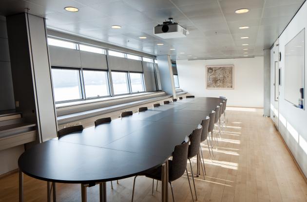 Meeting room Holberg interior