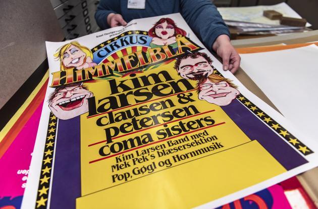 Poster from Cirkus Himmelblaa