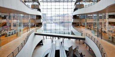 The Black Diamond Copenhagen, interior