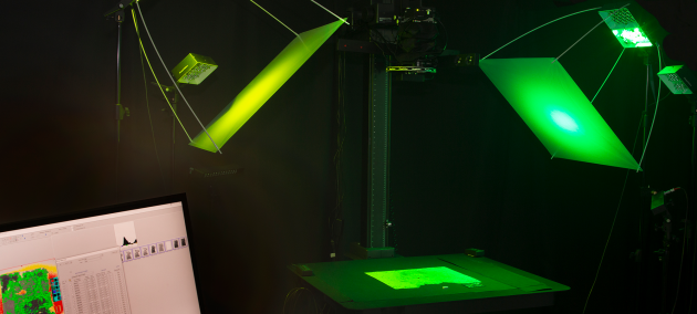 Multispektral digitalisering og analyse